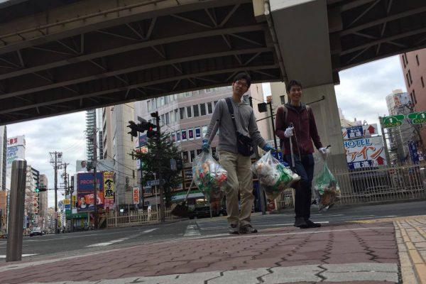 【145回】大阪梅田 東通り商店街の清掃ボランティア活動報告