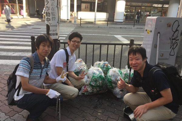 【144回】大阪梅田 東通り商店街の清掃ボランティア活動報告