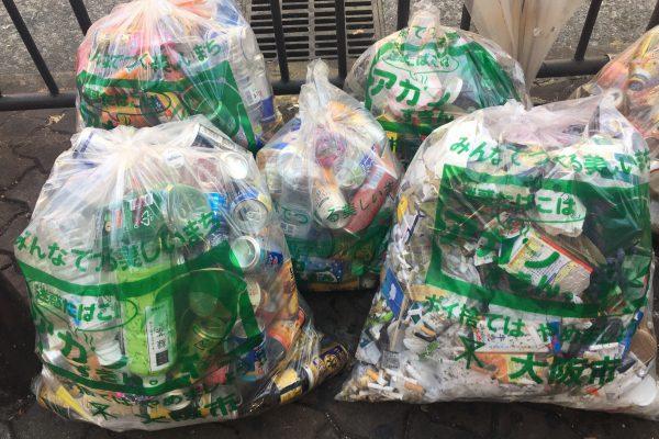 【206回】大阪梅田 東通り商店街の清掃ボランティア活動報告