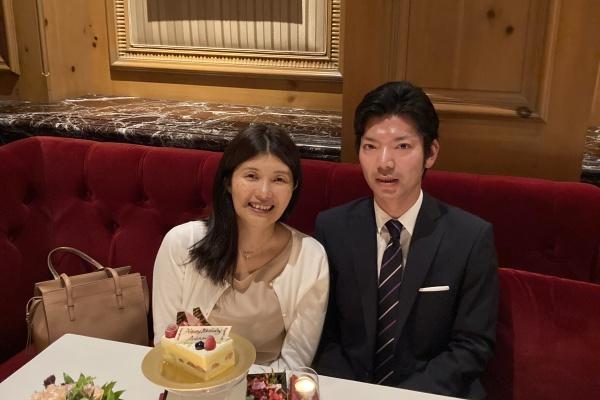 妻の誕生日だったのでお祝いのランチをしてきました